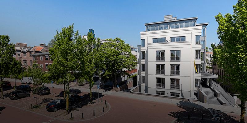 Bouw - Johan van Oldenbarneveltlaan, Den Haag