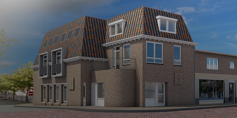 Bouw - Van Limburg Stirumstraat, Noordwijk