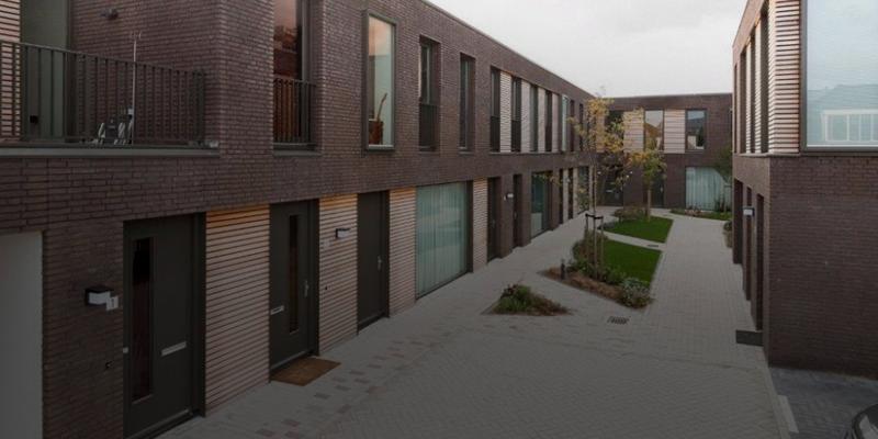 Bouw - Warmoeziershof, Leiden